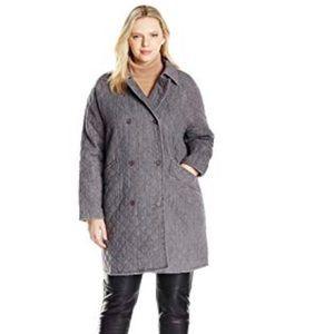 Jackets & Blazers - Melissa McCartney quilted car Coat 1x